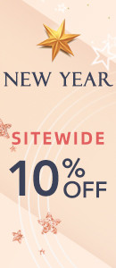 New Year 10% Off Sitewide