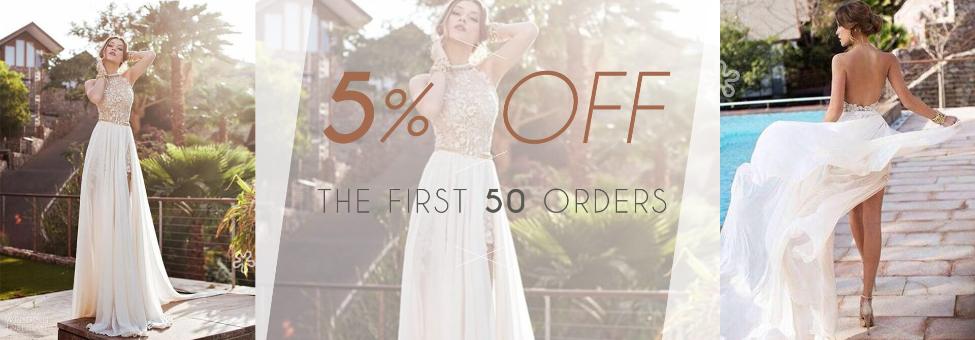 5% Off the First 50 Orders