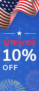 Independence Day Sale 10% Off Sitewide