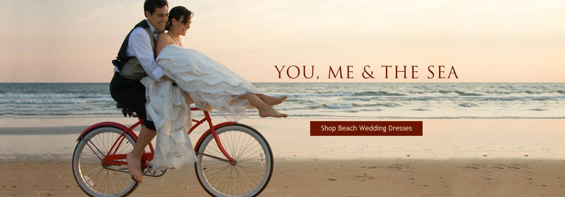 60% Off Beach Wedding Dresses