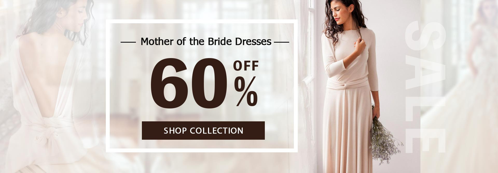 Mother of the Bride Dress 60% OFF